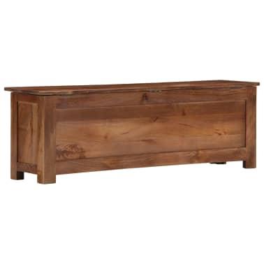 vidaXL Úložný box z mangovníkového dreva 120x30x40 cm[3/15]