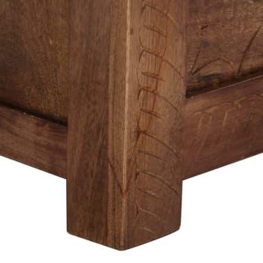 vidaXL Úložný box z mangovníkového dreva 120x30x40 cm[6/15]