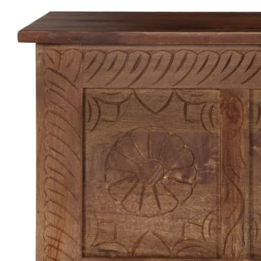 vidaXL Úložný box z mangovníkového dreva 120x30x40 cm[7/15]