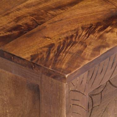 vidaXL Úložný box z mangovníkového dreva 120x30x40 cm[8/15]
