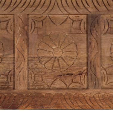 vidaXL Úložný box z mangovníkového dreva 120x30x40 cm[9/15]