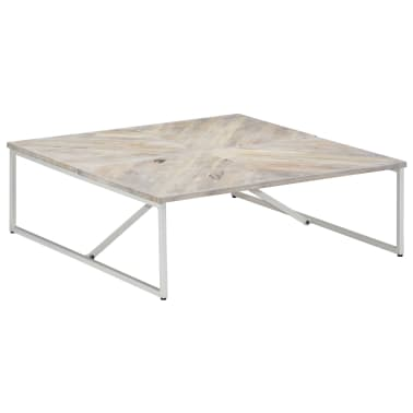 vidaXL Kavos staliukas, 110x110x36cm, mango medienos masyvas[1/12]