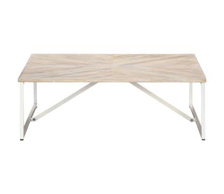 vidaXL Kavos staliukas, 110x110x36cm, mango medienos masyvas[2/12]