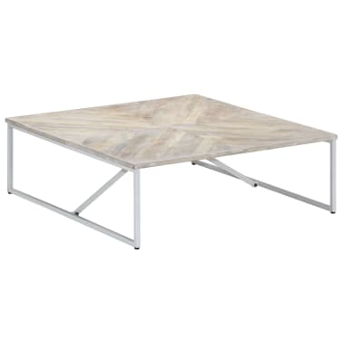 vidaXL Kavos staliukas, 110x110x36cm, mango medienos masyvas[11/12]
