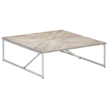 vidaXL Kavos staliukas, 110x110x36cm, mango medienos masyvas[10/12]