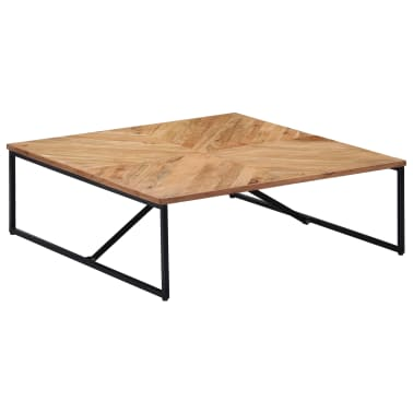 vidaXL Kavos staliukas, 110x110x36cm, akacijos med. masyvas[1/11]