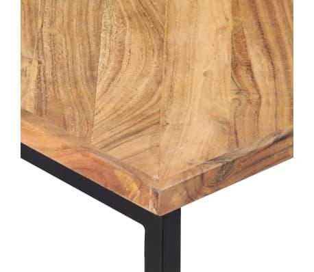 vidaXL Kavos staliukas, 110x110x36cm, akacijos med. masyvas[4/11]