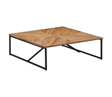 vidaXL Kavos staliukas, 110x110x36cm, akacijos med. masyvas[9/11]