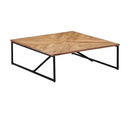 vidaXL Kavos staliukas, 110x110x36cm, akacijos med. masyvas[10/11]