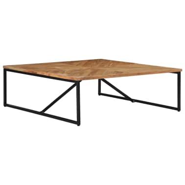 vidaXL Kavos staliukas, 110x110x36cm, akacijos med. masyvas[3/11]