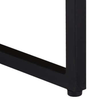 vidaXL Kavos staliukas, 110x110x36cm, akacijos med. masyvas[5/11]