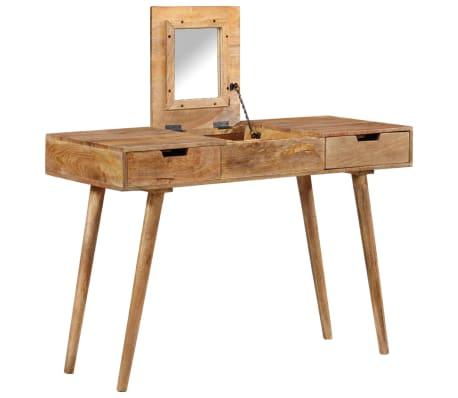 "vidaXL Dressing Table 44""x17.7""x29.9"" Solid Mango Wood[1/17]"