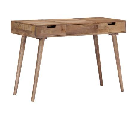 "vidaXL Dressing Table 44""x17.7""x29.9"" Solid Mango Wood[12/17]"