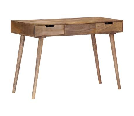 "vidaXL Dressing Table 44""x17.7""x29.9"" Solid Mango Wood[14/17]"