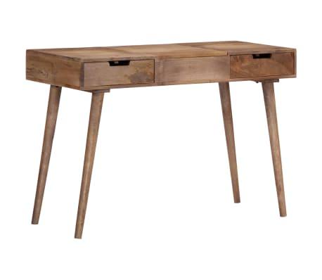 "vidaXL Dressing Table 44""x17.7""x29.9"" Solid Mango Wood[15/17]"