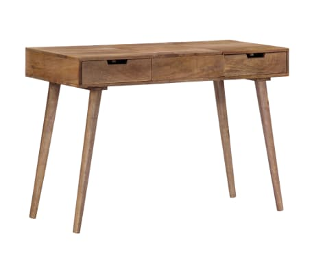 "vidaXL Dressing Table 44""x17.7""x29.9"" Solid Mango Wood[16/17]"
