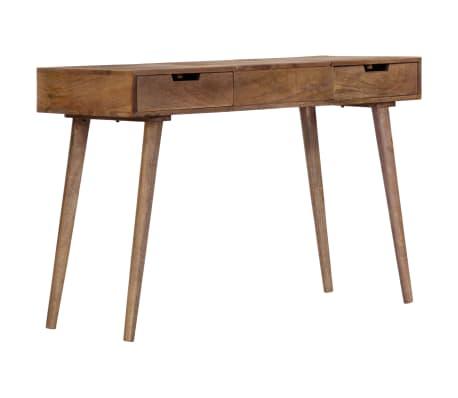 "vidaXL Dressing Table 44""x17.7""x29.9"" Solid Mango Wood[17/17]"