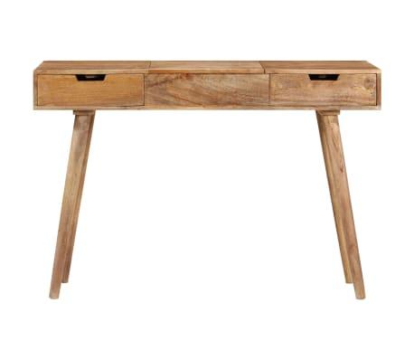 "vidaXL Dressing Table 44""x17.7""x29.9"" Solid Mango Wood[3/17]"