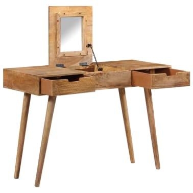 "vidaXL Dressing Table 44""x17.7""x29.9"" Solid Mango Wood[2/17]"
