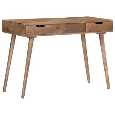 "vidaXL Dressing Table 44""x17.7""x29.9"" Solid Mango Wood[13/17]"
