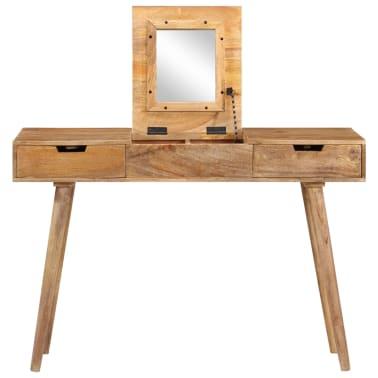 "vidaXL Dressing Table 44""x17.7""x29.9"" Solid Mango Wood[5/17]"