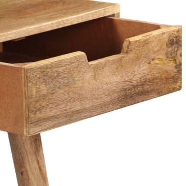 "vidaXL Dressing Table 44""x17.7""x29.9"" Solid Mango Wood[7/17]"