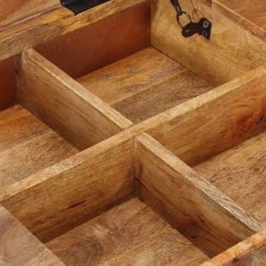 "vidaXL Dressing Table 44""x17.7""x29.9"" Solid Mango Wood[8/17]"