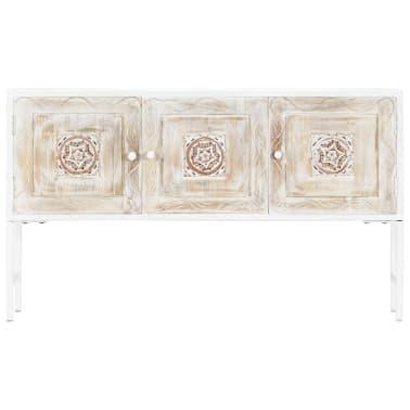 vidaXL Dulap lateral, 120 x 30 x 70 cm, lemn masiv de mango[2/11]