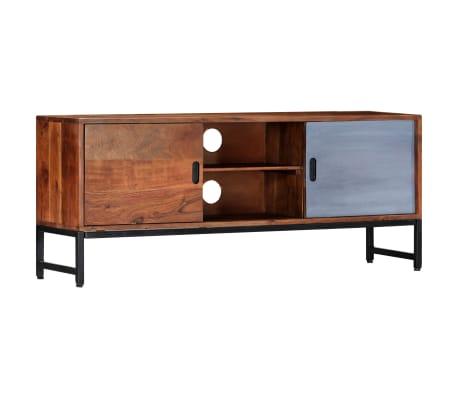 "vidaXL TV Cabinet 47.2""x11.8""x19.2"" Solid Acacia Wood"