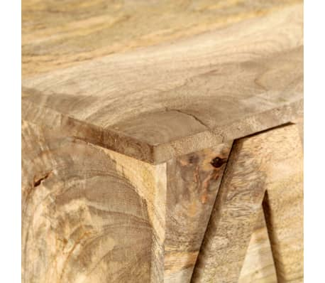 vidaXL Meuble alphabétique avec 6 tiroirs 120x35x79 cm Manguier massif[5/12]