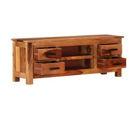 "vidaXL TV Cabinet 43.3""x11.8""x15.7"" Solid Sheesham Wood[1/12]"