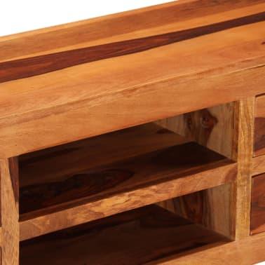 "vidaXL TV Cabinet 43.3""x11.8""x15.7"" Solid Sheesham Wood[4/12]"