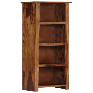 "vidaXL Bookshelf 19.6""x11.8""x39.3"" Solid Sheesham Wood[1/11]"