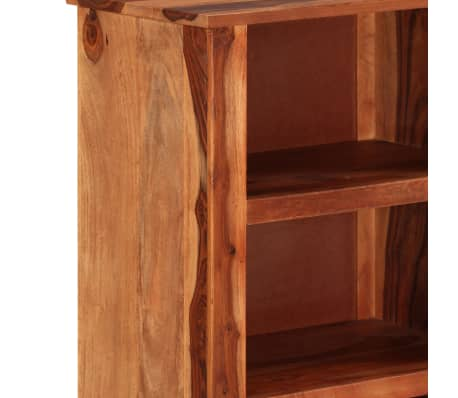 "vidaXL Bookshelf 19.6""x11.8""x39.3"" Solid Sheesham Wood[5/11]"