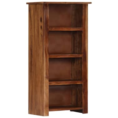 "vidaXL Bookshelf 19.6""x11.8""x39.3"" Solid Sheesham Wood[11/11]"