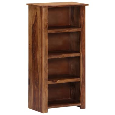 "vidaXL Bookshelf 19.6""x11.8""x39.3"" Solid Sheesham Wood[10/11]"