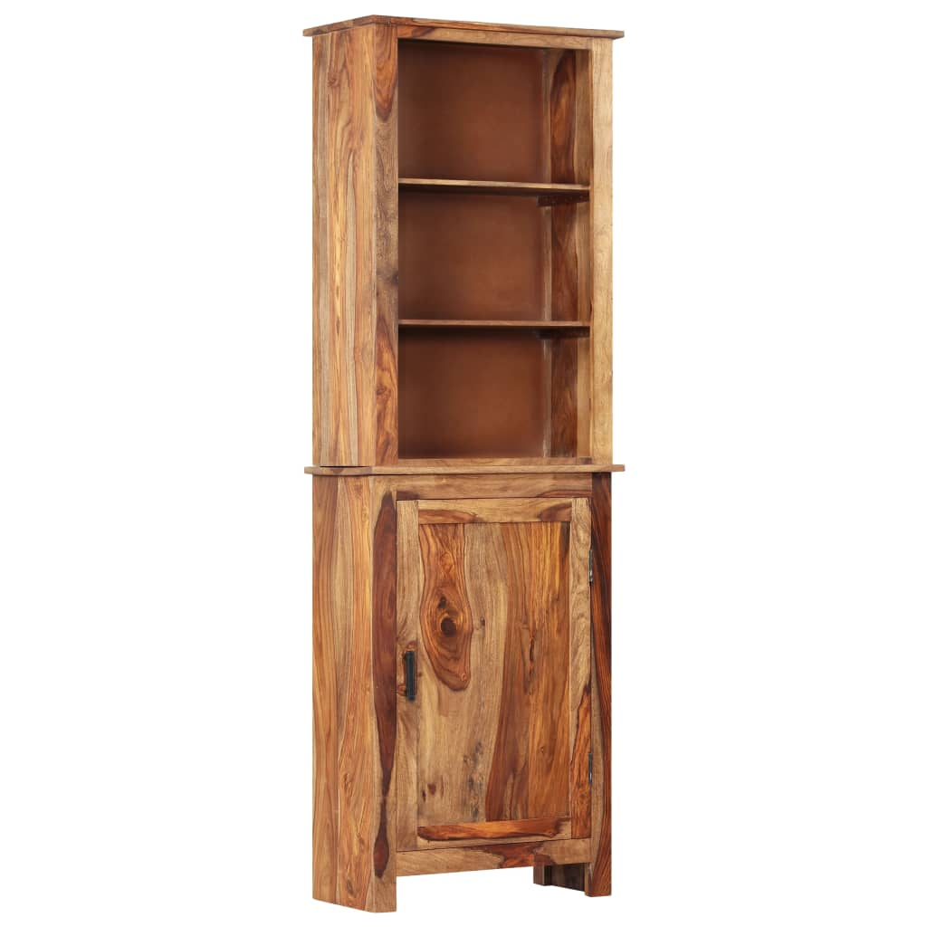 vidaXL Dulap înalt, 60 x 30 x 180 cm, lemn masiv de sheesham poza vidaxl.ro