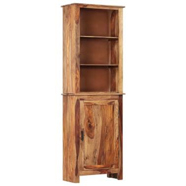vidaXL Dulap înalt, 60 x 30 x 180 cm, lemn masiv de sheesham[1/14]