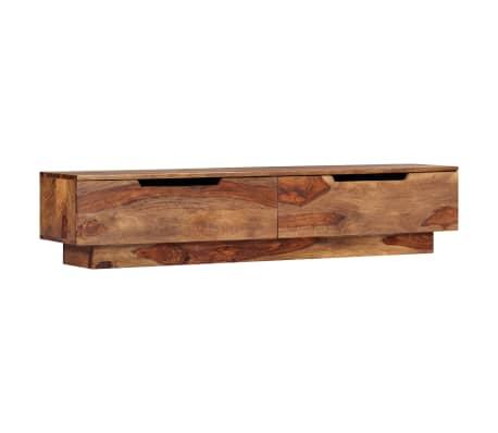 "vidaXL TV Cabinet 57""x11.8""x11.8"" Solid Sheesham Wood"