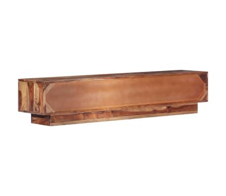 "vidaXL TV Cabinet 57""x11.8""x11.8"" Solid Sheesham Wood[3/12]"