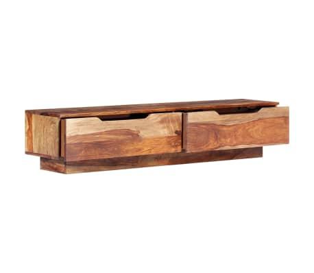 "vidaXL TV Cabinet 57""x11.8""x11.8"" Solid Sheesham Wood[6/12]"