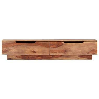 "vidaXL TV Cabinet 57""x11.8""x11.8"" Solid Sheesham Wood[2/12]"