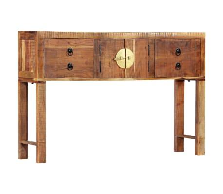 vidaXL Table console 120 x 30 x 80 cm Bois d'acacia massif[12/15]