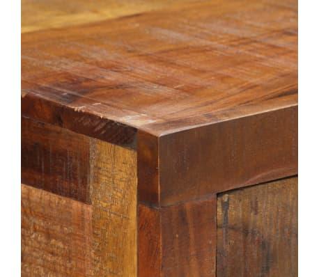 vidaXL Table console 120 x 30 x 80 cm Bois d'acacia massif[6/15]