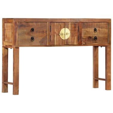 vidaXL Table console 120 x 30 x 80 cm Bois d