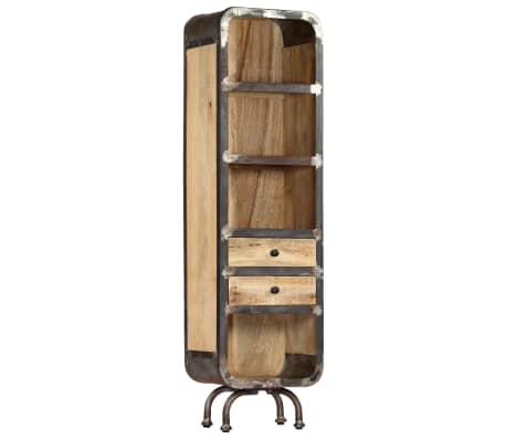 """vidaXL Highboard 15.7""""x11.8""""x57"""" Solid Mango Wood"""