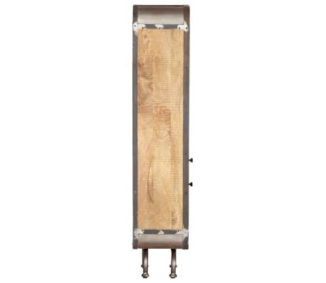 vidaXL Dulap înalt, 40x30x145 cm, lemn masiv de mango[4/13]