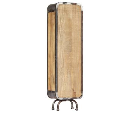 vidaXL Dulap înalt, 40x30x145 cm, lemn masiv de mango[5/13]