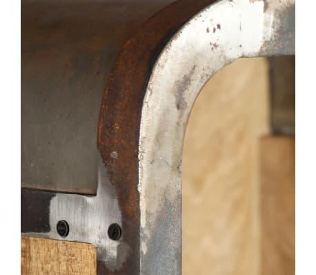 vidaXL Dulap înalt, 40x30x145 cm, lemn masiv de mango[6/13]