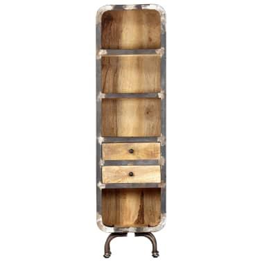 vidaXL Dulap înalt, 40x30x145 cm, lemn masiv de mango[2/13]
